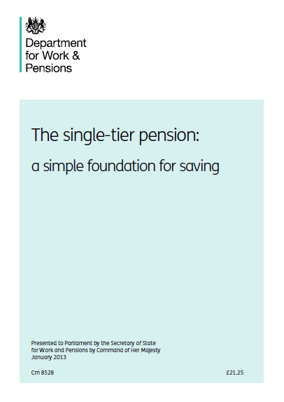 Single -Tier Pensions